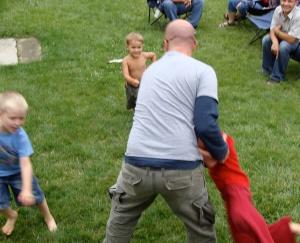 Zach Tearing the Children